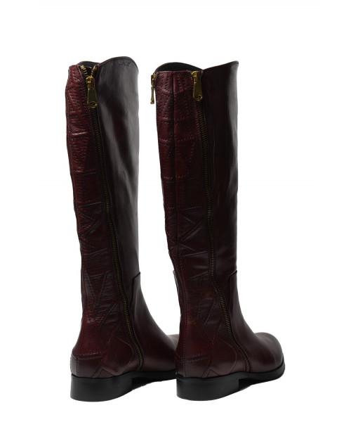 Lady Shoes 3553-Savage/Amaranto
